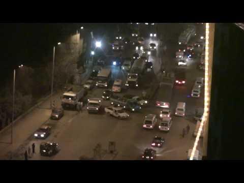 Egipt nocą Kair sierpień 2008