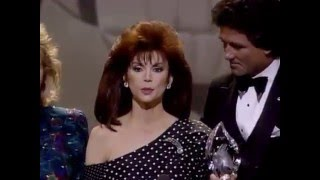 People's Choice Awards - Victoria Principal and Patrick Duffy - Dallas