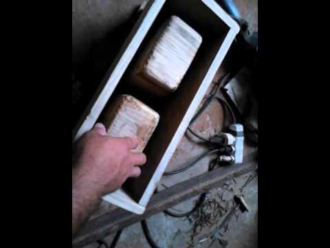 como fazer uma forma de bloco manual de madeira