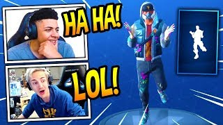 NINJA & MYTH REACT TO *NEW* CHICKEN DANCE EMOTE/DANCE! *FUNNY* Fortnite SAVAGE & FUNNY Moments