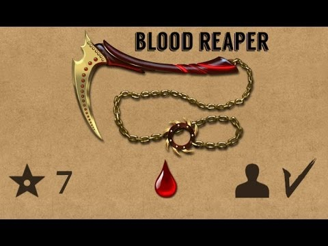 Как сделать кровавый жнец из бумаги