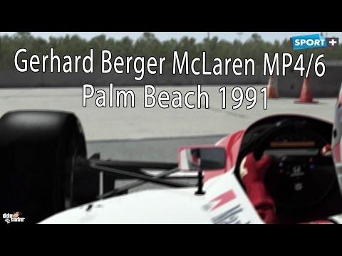 Xxx Mp4 F1 Legends RFactor2 Gerhard Berger McLaren MP4 6 Real Onboard Cam At Palm Beach 1991 Download 3gp Sex