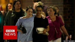 """Manchester Explosion: """"Kids and teenagers just laying there screaming"""" - BBC News"""