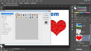 Curso Photoshop CS6 Capítulo 3 - 32 La Ventana de Estilos de Capas Agregar