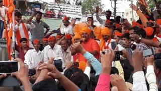 Raja singh warning at dhoolpet