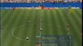 Bulgaria vs. Germany Mondial 1994