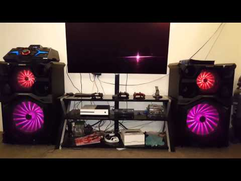 Samsung 4000 watt DJ system