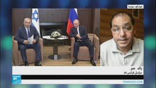 """نتانياهو يندد أمام بوتين بـ"""" التهديد الإيراني"""""""