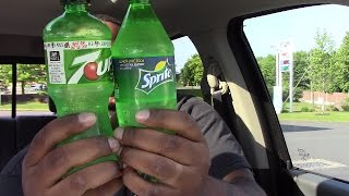 Sprite vs 7up - YOU DECIDE