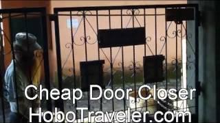 Cheap Door Closer Device