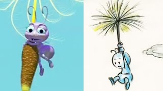 """A Bugs Life Side-By-Side : """"Dots Rescue"""" 