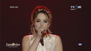 "Florena - ""Behind the shadows"" | Semifinala Eurovision România 2016"
