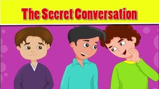 Islamic cartoon for kids in english - The Secret Conversation - little muslim