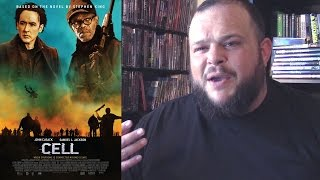 Cell (2016) movie review horror zombie Stephen King