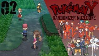 Pokemon Y Randomizer Nuzlocke EP02 - The Santalune Forest
