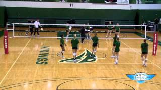 Serve Receive Drill - Volleyball