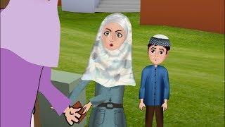 Abdul Bari & Ansharah went to Amina