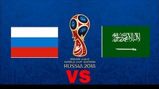Fifa Would 2018 Match -1 Russia vs Saudi Arabia | Fifa 18 Prediction