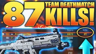 WORLDS MOST KILLS IN TEAM DEATHMATCH ON BLACK OPS 3 | MOST KILLS IN TDM SOLO GAMEPLAY ON BO3