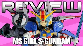 AGP MS Girl S-Gundam Review - GUNDAM SENTINEL - MS少女 Sガンダム