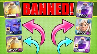 BANNED TROOPS & SPELLS CHALLENGE!! - Clash Of Clans - IMPOSSIBLE OR NOT!?