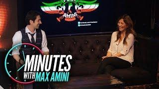 Minutes with Max Amini: Behjat Khani FARSI Interview مصاحبه مکس امینی با بهجت خانی