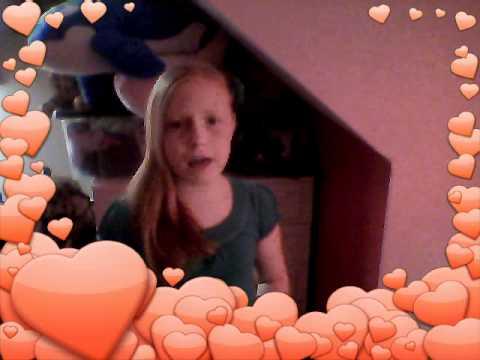 12 year old (me) singing price tag