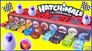 Disney Cars 3 HATCHIMALS CollEGGtibles Race Game | Surprise Toys & Eggs Opening