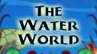 The Water World And Wild Animals - Animated Story For Kids