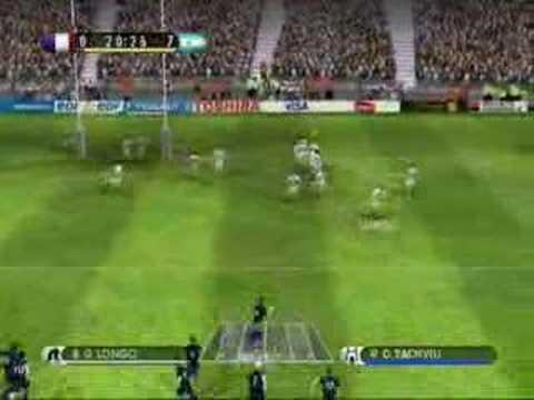 Rugby 08 France vs Argentina