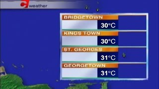 Caribbean Travel Weather - Friday April 28th, 2017