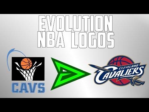 The Evolution of NBA logos