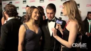 AVN Show 2014: Dani Daniels and Xander Corvus Talk with Ela Darling