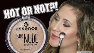 ESSENCE PURE NUDE HIGHLIGHTER   HOT OR NOT!?
