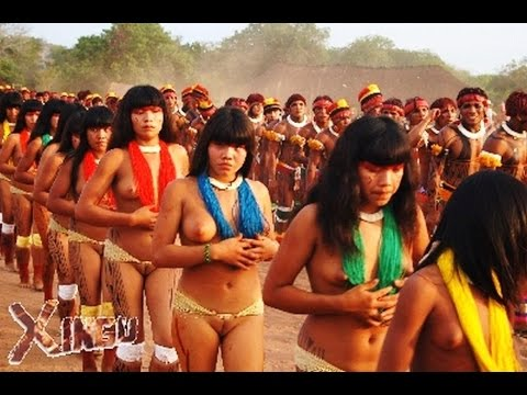 Isolated amazon tribes  women in Rainforest Amazon Tribe - uncontacted amazon tribe Documentary