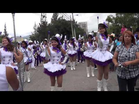 Julissa Betanco desfiles 15 de septiembre 2012