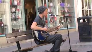 Jake Wright performs