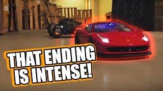 RC Battle: Ferrari Enzo & 458 Italia Vs Justice League Batmobile
