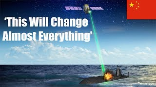 China Says It Is Developing a Laser Satellite to Spot (And Help Kill) Submarines