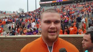 TigerNet.com -  - Clemson National title celebration - Jay Guillermo