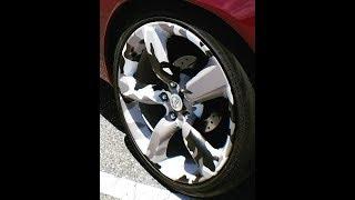 How To Vinyl Wrap Rims (350z wheels)