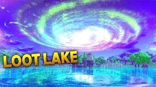 New Faze Superstar Natehill Destroys Loot Lake|| Fortnite