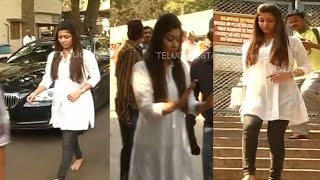 Top South Indian Actress Nayanthara exclusive video from Tirumala