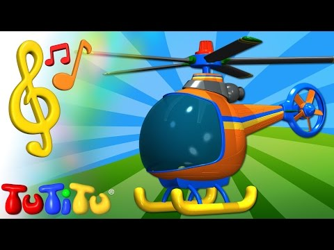 TuTiTu Toys and Songs for Children Helicopter