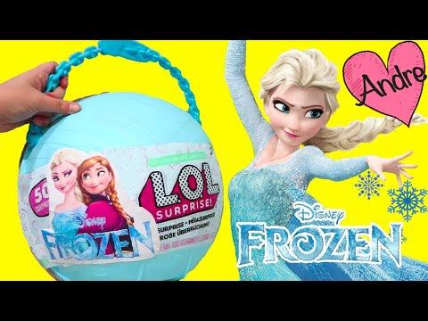 Xxx Mp4 LOL Big Surprise DIY De Frozen Elsa Y Anna Muñecas Y Juguetes Con Andre Para Niñas Y Niños 3gp Sex
