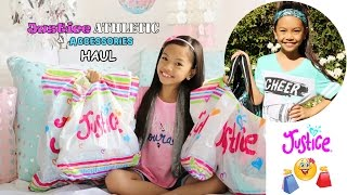 Justice Athletic Wear & Accessories Haul!!!