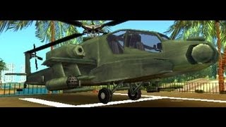 Helicopter Hunter !!! - Grand Theft Auto Vice City Stories PSP