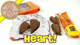 Reese's King Size 2 Pack & Giant Heart Candy, 2014 Valentine's Day Series
