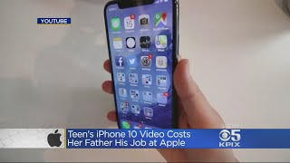 Apple Engineer Loses Job After Daughter
