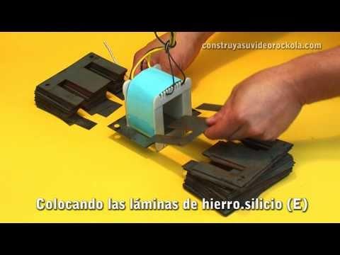 Construcción de un transformador eléctrico Build a electric transformer